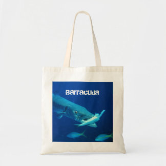 Barracuda Fish Tote Bag
