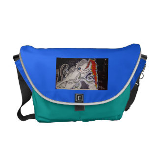 Barracuda/Octopus Messenger Bag