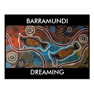Barramundi Dreaming Postcard