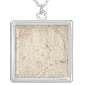 Barre, Massachusetts Silver Plated Necklace