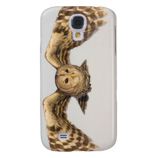 Barred Owl in Flight Galaxy S4 Case
