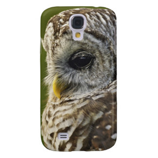 Barred Owl, Strix varia, Michigan Galaxy S4 Case