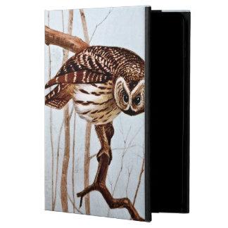 Barred Owl Vintage Wildlife Illustration Case For iPad Air