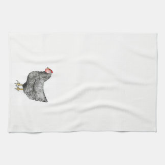 Barred Rock Chicken Towel
