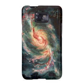 Barred Spiral Galaxy Galaxy S2 Case