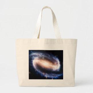 Barred Spiral Galaxy Jumbo Tote Bag