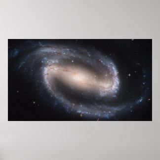 Barred Spiral Galaxy NGC 1300 Poster