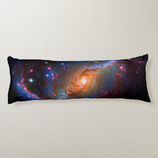 Barred Spiral Galaxy NGC 1672 Astronomy Picture Body Cushion
