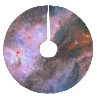 Barred Spiral Galaxy NGC 1672 Astronomy Picture Brushed Polyester Tree Skirt