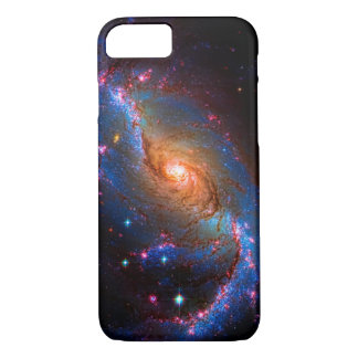 Barred Spiral Galaxy NGC 1672 Astronomy Picture iPhone 8/7 Case