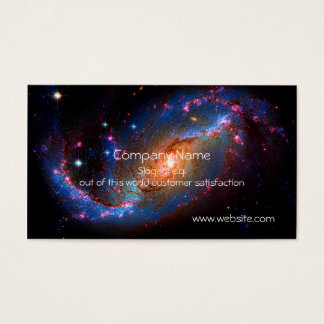 Barred Spiral Galaxy NGC 1672 Business Card