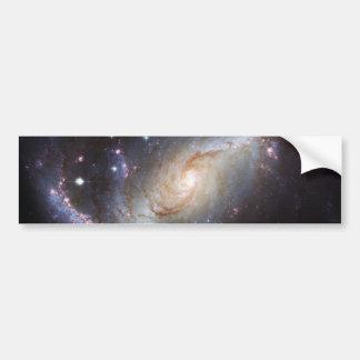 Barred Spiral Galaxy NGC 1672 Constellation Dorado Bumper Sticker