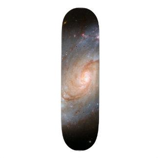 Barred spiral galaxy, NGC 1672 Custom Skateboard