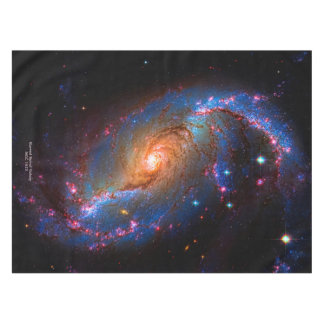 Barred Spiral Galaxy NGC 1672 Tablecloth