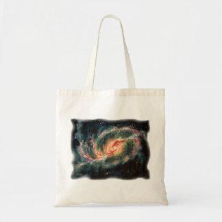 Barred Spiral Galaxy Bag