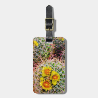 Barrel cactus close up, California Luggage Tag