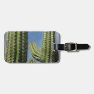 Barrel Cactus I Desert Nature Photo Luggage Tag