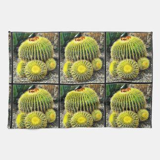 Barrel Cactus Kitchen Towel