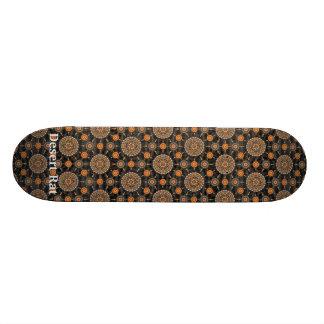 Barrel Cactus Mandala  Array Skateboard