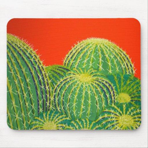 Barrel Cactus Mousepads