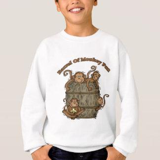 Barrel Of Monkey Fun Sweatshirt