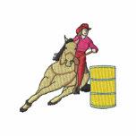 Barrel Racer Embroidered Hoodies