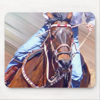 Barrel Racer Mouse Pad