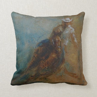 Barrel Racer Pillow