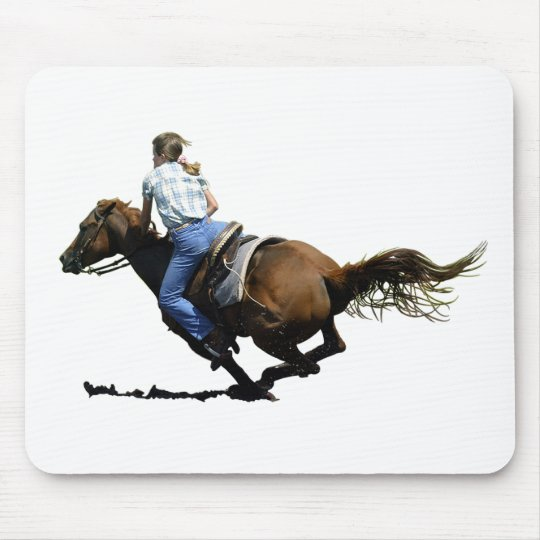 Barrel Racing - Coming In Hard Mouse Mat