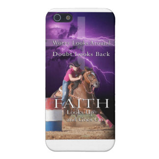 Barrel Racing Faith Iphone Case iPhone 5/5S Covers