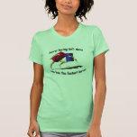 Barrel Racing - Racing Barrels Tee Shirt