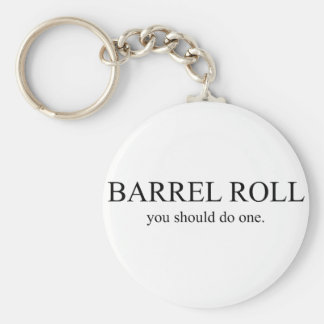 Barrel Roll 1 Key Ring