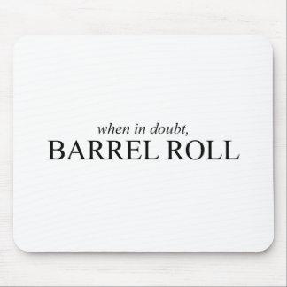 Barrel Roll 7 Mouse Mat