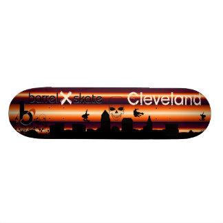 Barrel X Skate Cleveland Skateboard
