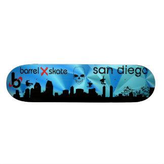 Barrel X Skate San Diego Skate Deck