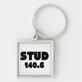 Barrel X Triathlon Stud 140.6 Ironman Key Ring