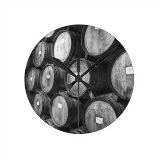 Barrels Round Clock