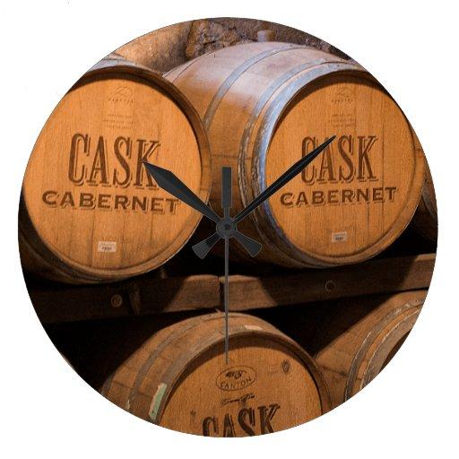 Barrels In The Cellar Clock