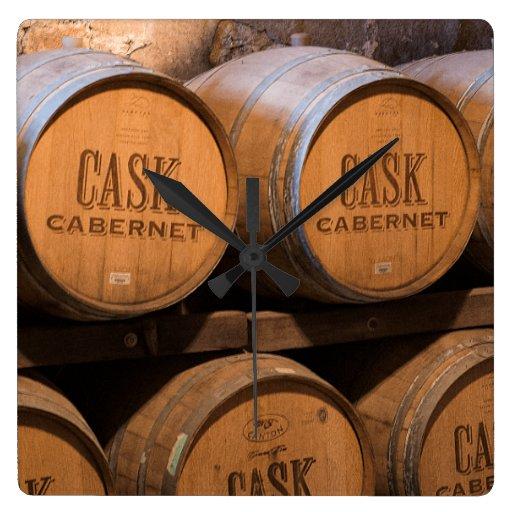 Barrels In The Cellar Clocks