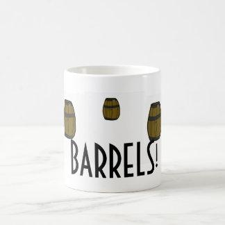BARRELS Mug! Basic White Mug