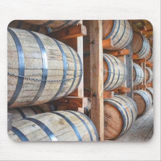 Barrels Of Bourbon Mouse Mat