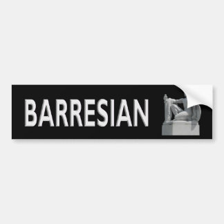 Barresian Bumper Sticker