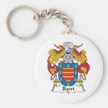 Barri Family Crest Keychain