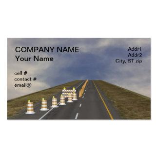 Barricade assortment pack of standard business cards