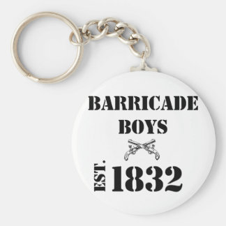 Barricade Boys Odds and Ends Key Ring