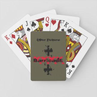 BarricadE XXXX CROSS Poker Deck