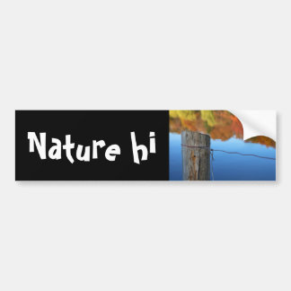 barrier to beauty bumper sticker