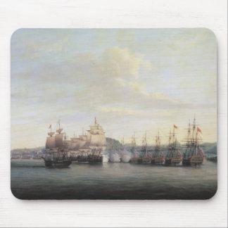 Barrington's Action at Santa Lucia, 1778 Mouse Mat