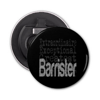 Barrister Extraordinaire Bottle Opener