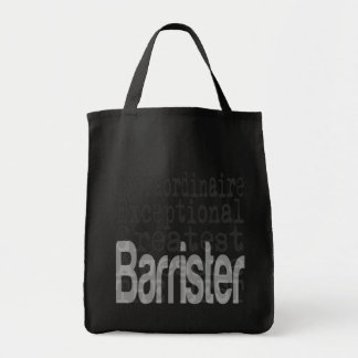 Barrister Extraordinaire Tote Bag